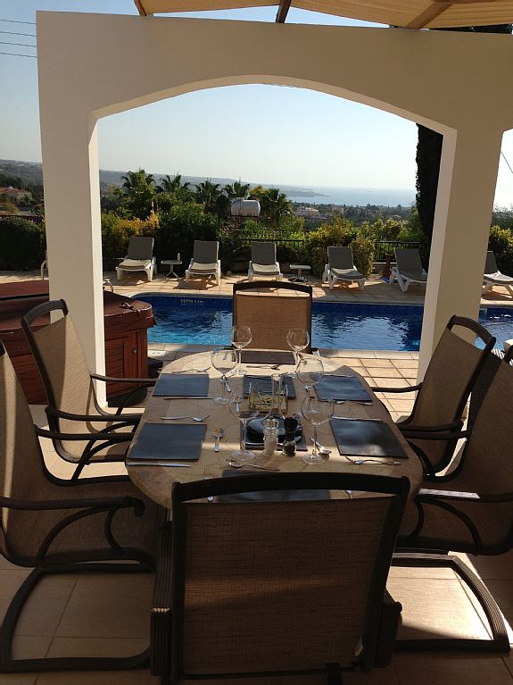 Villa Angela is a Lovely Quiet Villa With Panoramic Sea Views (CY1857)