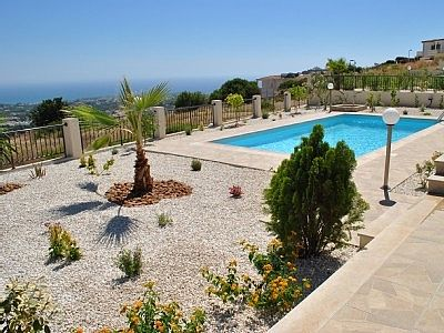 Villa Zalakia is a Lovely Brand New 3 Bedroom Villa With Private Pool And Stunning Views in Peyia CY6131