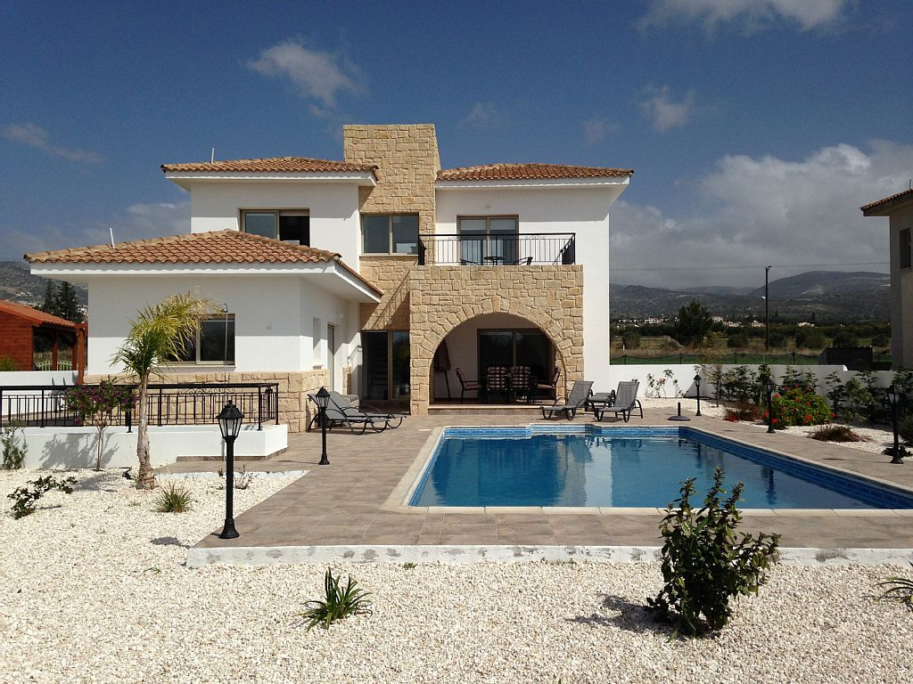 Villa Michalis is a Fabulous Brand New 3 Bed 3 Bath Villa With Large heated Pool (CY5705)