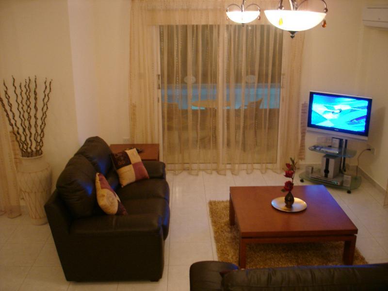 villa corallia lounge area