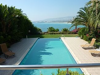 Villa Infinity is a Stunning Large Sea Front 4 Bed Villa With Infinity Pool, Hot Tub And Games Room! (CY5174)
